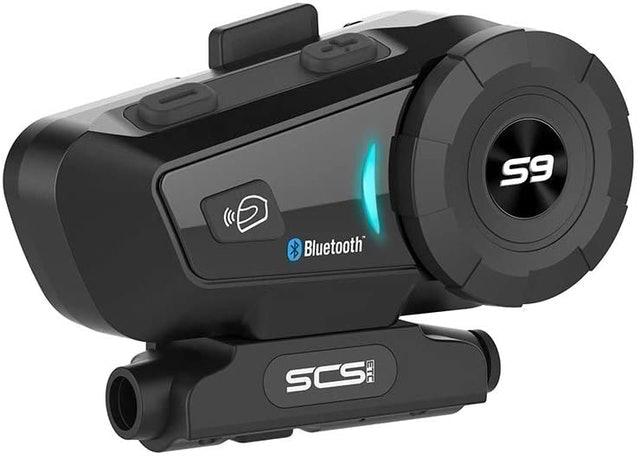 SCS บลูทูธติดหมวกกันน็อค รุ่น S9 1