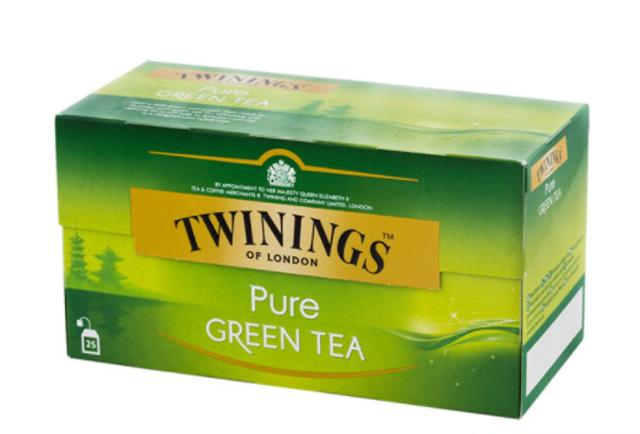 Twinings ชาเขียวสำเร็จรูป ชา ทไวนิงส์ Pure Green Tea ชนิดซอง แพ็ค 25 ซอง 1