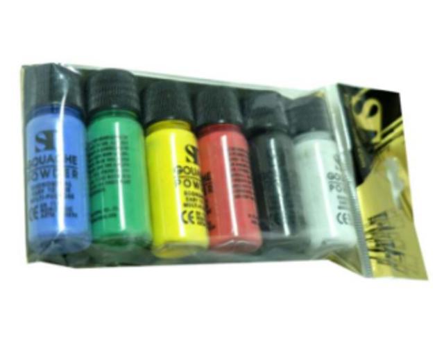 ST สีฝุ่น ชุดสี Gouache powder 1