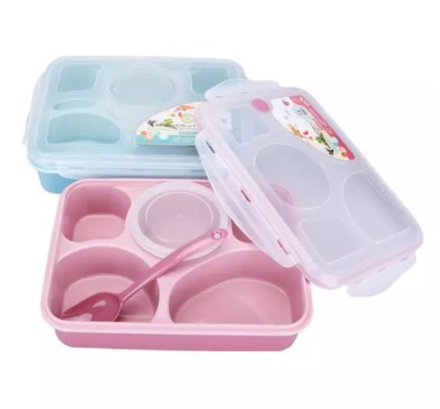 KitchenMarks Compartments Bento Lunch Box 1