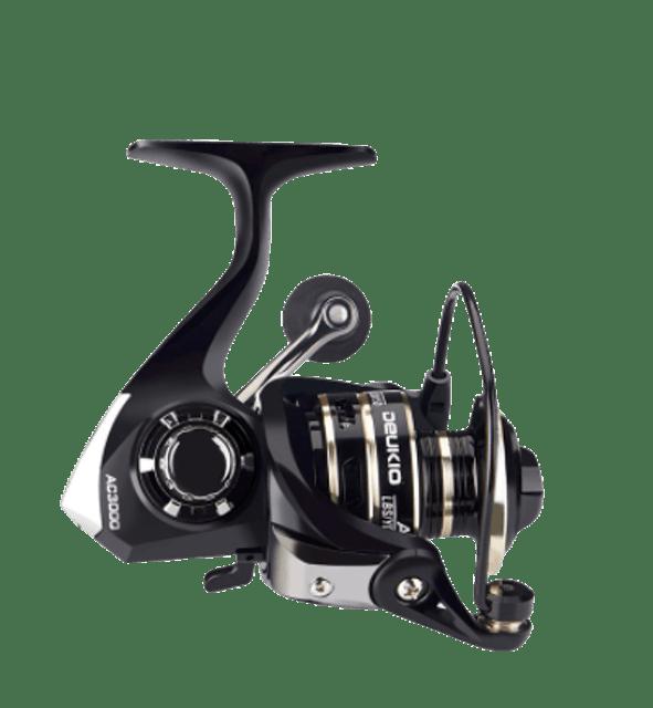 DEUKIO รอกตกปลาแบบ Spinning AC2000 - 7000 1