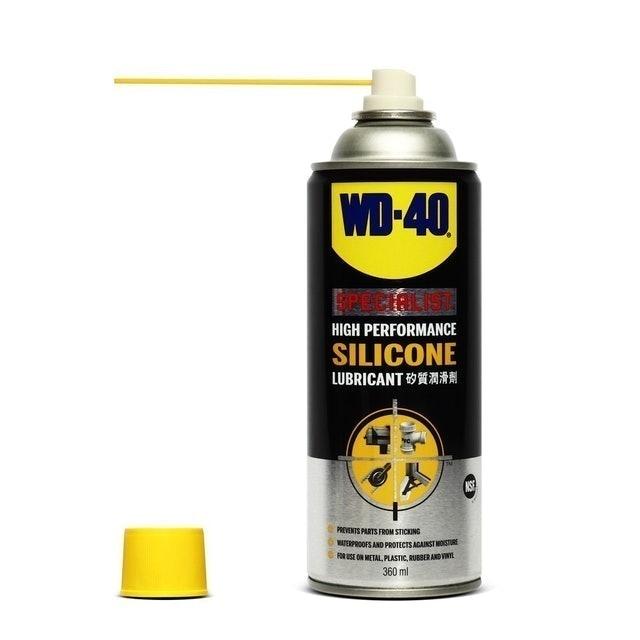 WD-40 อุปกรณ์เสริมเซิร์ฟสเก็ต ซิลิโคนสเปรย์สำหรับหล่อลื่น (Silicone Lubricant)  1