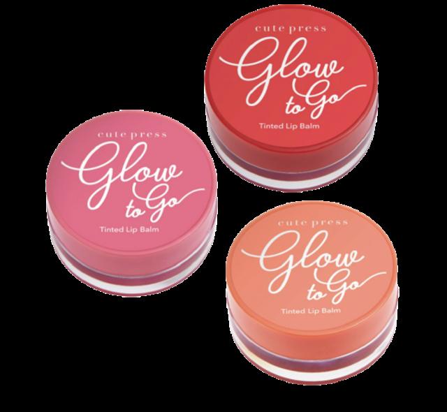 Cute Press ลิปมันเปลี่ยนสี Glow To Go Tinted Lip Balm 1