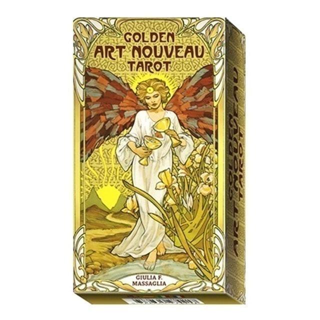 Giulia F. Massaglia Golden Art Nouveau Tarot 1
