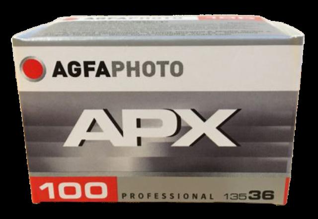 AGFA  ฟิล์มขาวดำ AGFA APX 100 1
