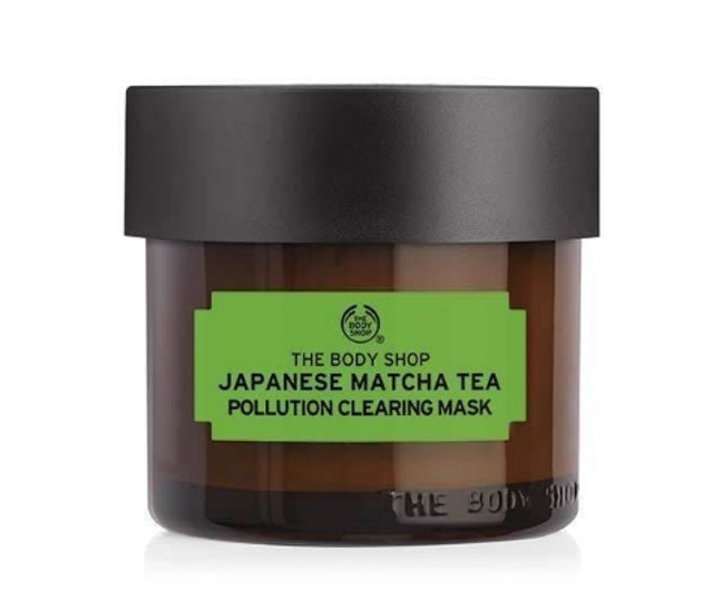THE BODY SHOP Japanese Matcha Tea Pollution Clearing Mask 1