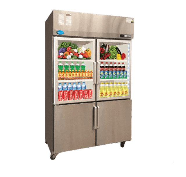 FRESHER ตู้แช่เย็นและตู้แช่แข็ง 4 ประตู รุ่น FR-4SCFL 1