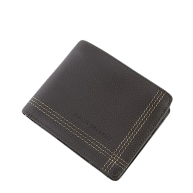 Louis Montini กระเป๋าสตางค์ผู้ชาย มีช่องใส่เหรียญ Men's Wallet TTM030-TTM031 1
