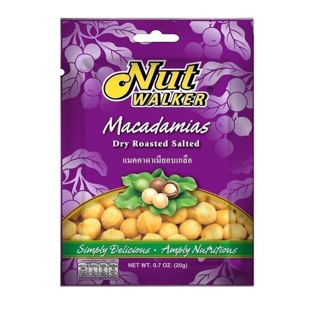 Nut Walker แมคคาเดเมียอบเกลือ 1
