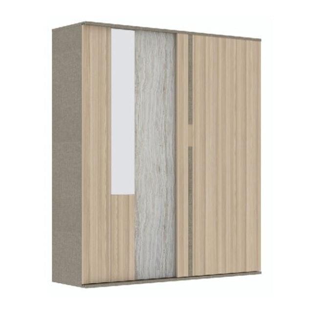 SB Furniture ตู้เสื้อผ้าบานเลื่อน รุ่น Econi-B 1