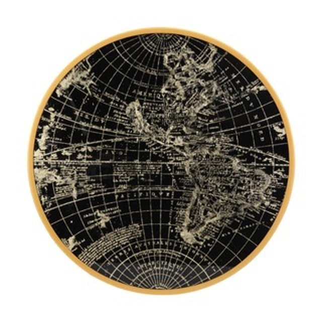INDEX LIVING MALL แผนที่โลกตกแต่งผนัง รุ่น เออร์ต้า - สีทอง  1