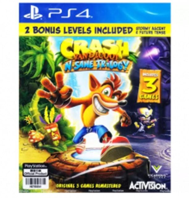 PS4 Crash Bandicoot N-Sane Trilogy 1