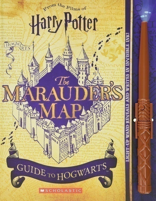 Pascal, Erinn, Cann, Helen ของสะสม หนังสือแผนที่ตัวกวน The Marauder's Map Guide to Hogwarts (ปกแข็ง) 1