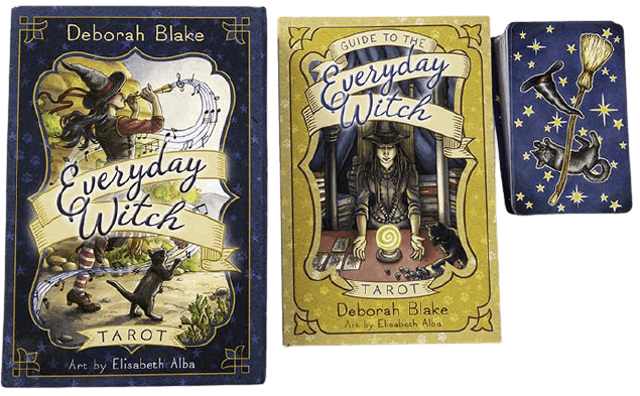 Elisabeth Alba, Deborah Blake Everyday Witch Tarot 1