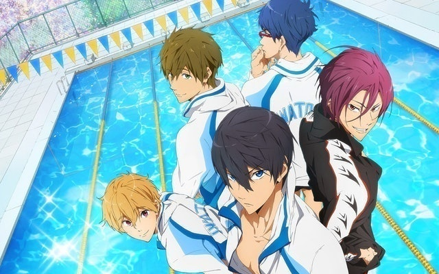 Kyoto Animation, Animation Do Free! 1