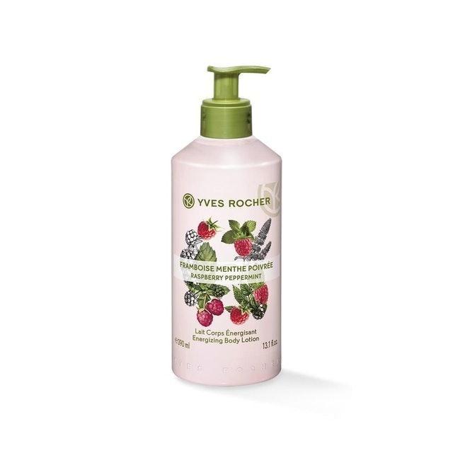Yves Rocher  Energizing Body Lotion Raspberry Peppermint 1