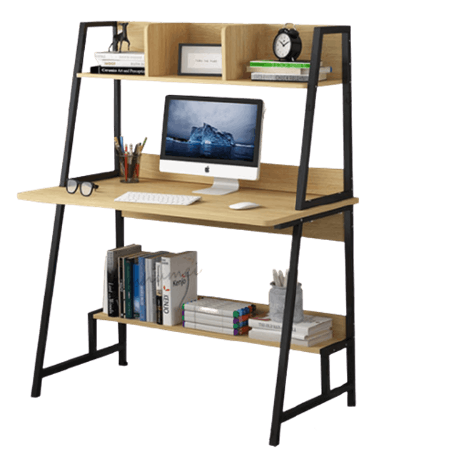 Oushumei โต๊ะคอมขาสามเหลี่ยม 1