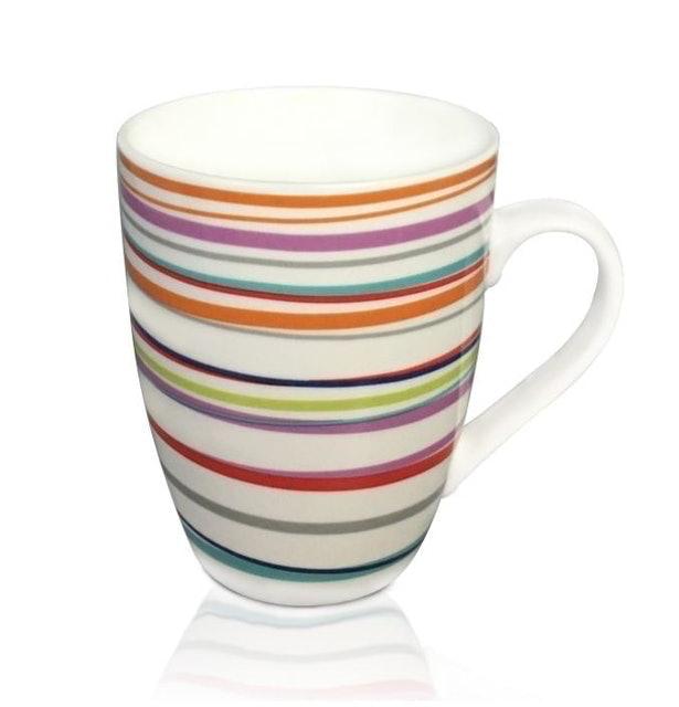 Duchess Premium Bone Colorful Mug ชุดแก้วกาแฟ เซ็ต 4 ชิ้น 1