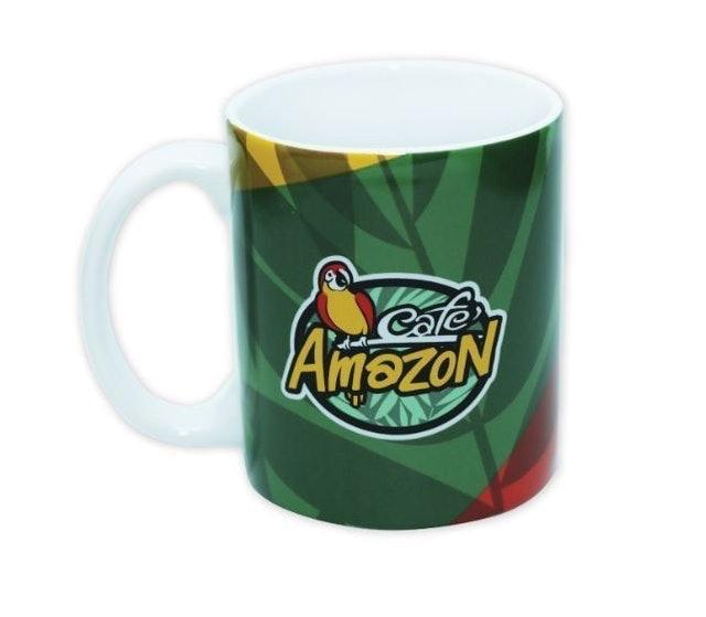 Café Amazon Coffee Mug Thermometer 1