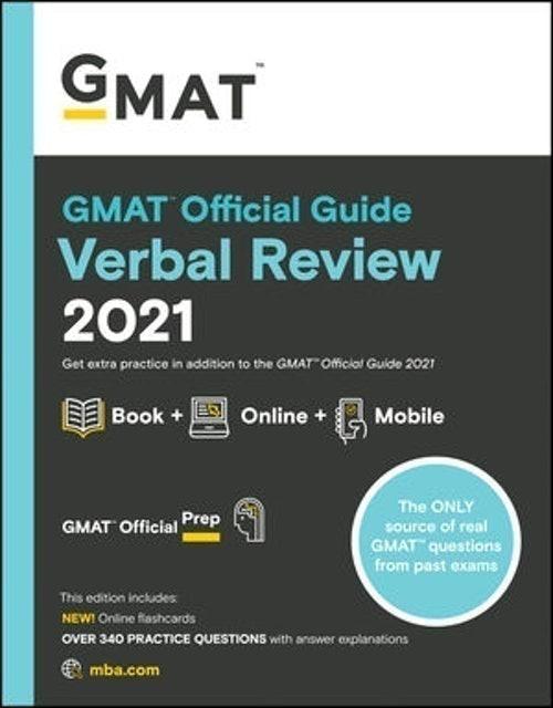 Graduate Management Admission Council (COR) GMAT Official Guide Verbal Review 2021 1