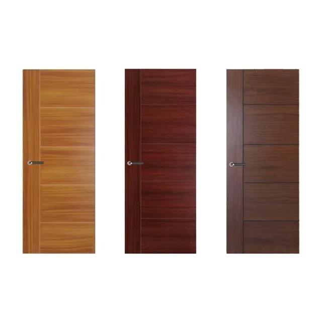 Leowood  ประตูไม้เมลามีน รุ่น iDoor Series 4  1