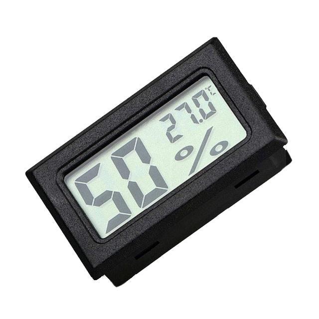 Salorie เครื่องวัดอุณหภูมิและความชื้นดิจิทัลจอ LCD แบบพกพา 1