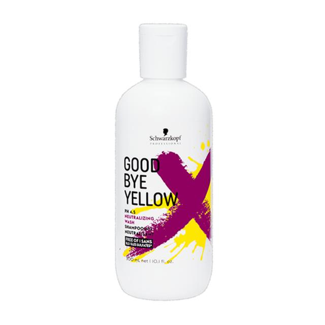 Schwarzkopf Professional แชมพูสำหรับผมทำสี Goodbye Yellow Shampooing pH 4.5 1