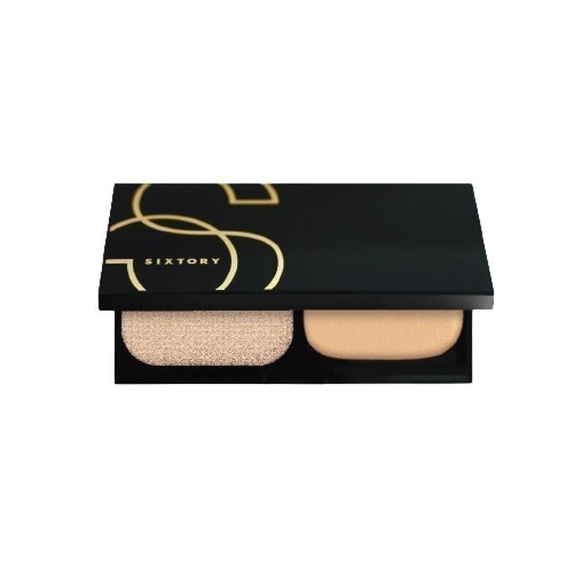 SIXTORY Skin Powder Foundation Lasting Cover UV Compact 1