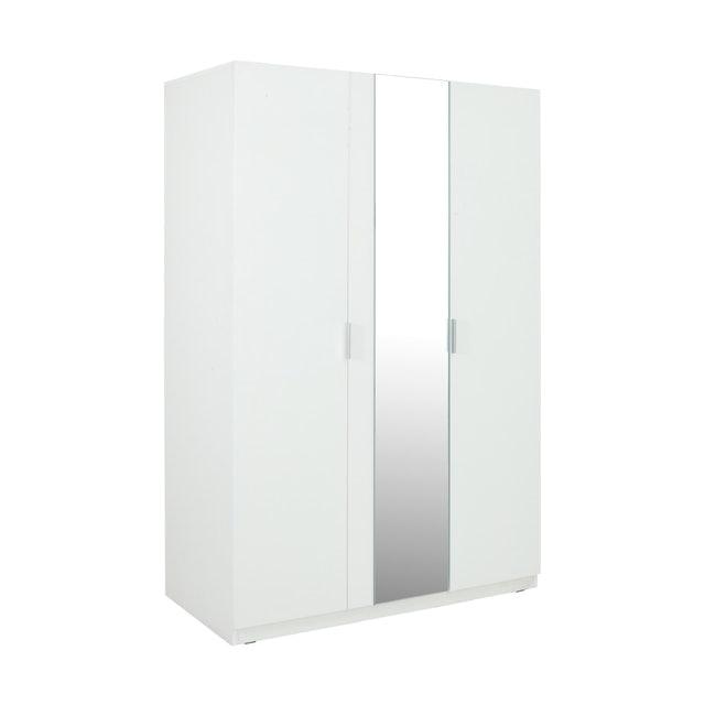 WINNER FURNITURE ตู้เสื้อผ้าไม้ 3 บานประตู รุ่น วิวิด 1