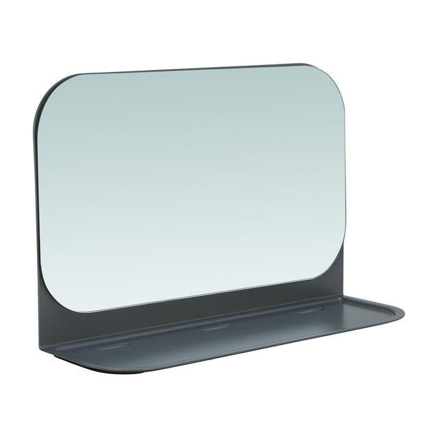 INDEX HOME กระจกเงาติดผนังพร้อมชั้นวาง รุ่น โพส 1