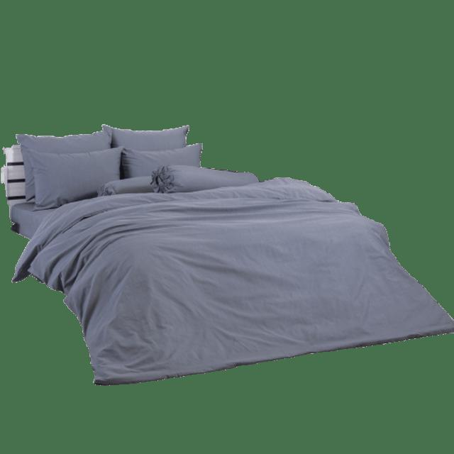 TOTO ผ้าปูที่นอนรัดมุมสีพื้น 1