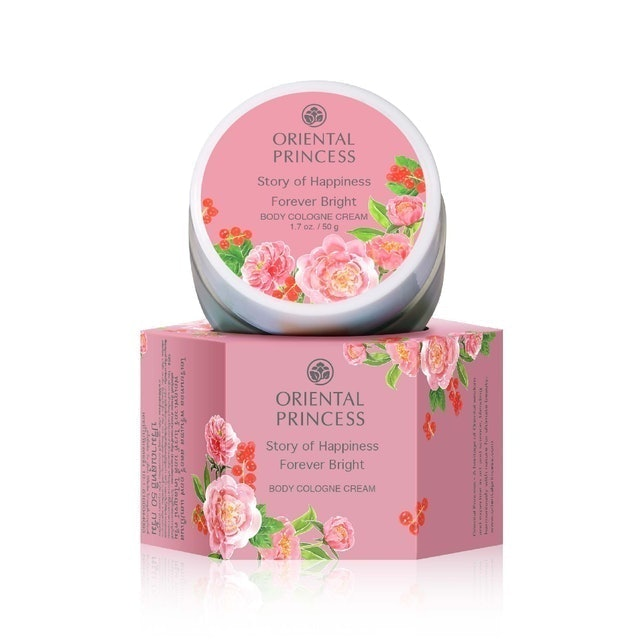 Oriental Princess Story of Happiness Forever Bright Body Cologne Cream 1