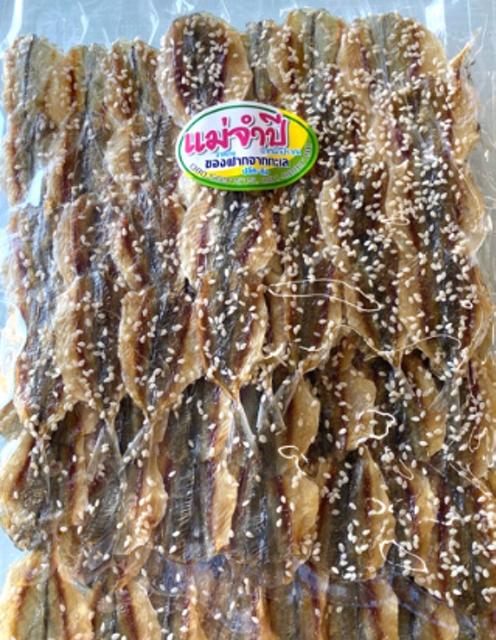 แม่จำปี อาหารใต้ ปลาข้างเหลืองแบบหวานโรยงา 1