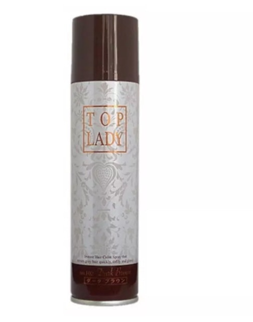 TOP LADY Instant Hair Color Spray 1