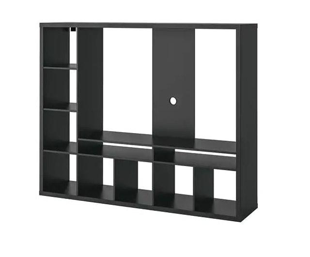 IKEA  ชั้นวางทีวี ลัพแลนด์ (สีน้ำตาลดำ) 1