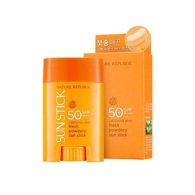 NATURE REPUBLIC Powdery Sun Stick SPF 50+ PA++++  1