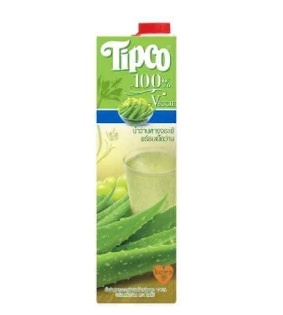 Tipco น้ำว่านหางจระเข้ผสมน้ำองุ่นขาว 1