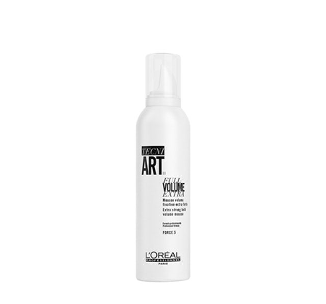 L'Oreal Professionnel Hair Styling Tech Ni Art Full Volume Extra Mousse 1