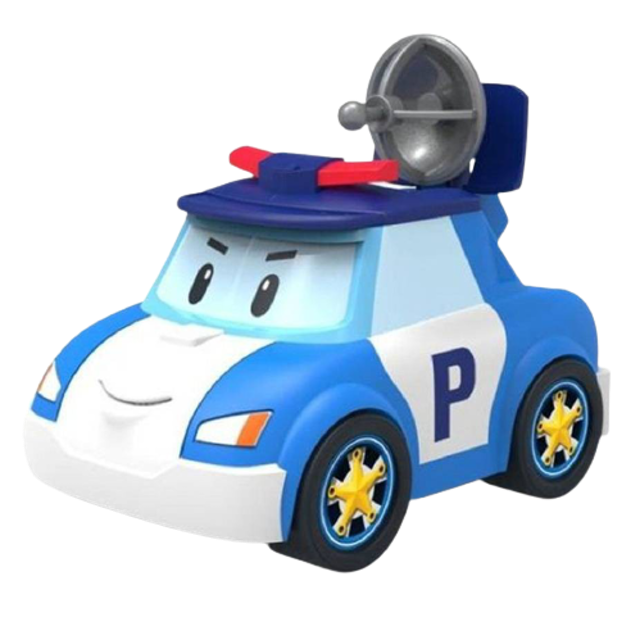 Silverlit รถของเล่นเด็ก รุ่น Robocar Poli - Poli Gear Up SVR83392 1