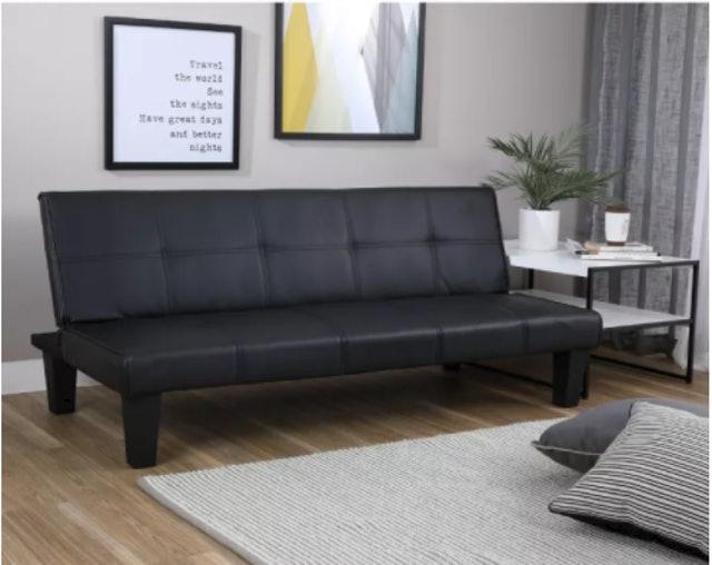 Furinbox  โซฟาปรับนอน PVC รุ่น DAY DREAM  1
