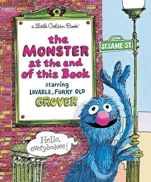 Jon Stone, Michael J. Smollin (Illustrator) Monster at the End of this Book 1