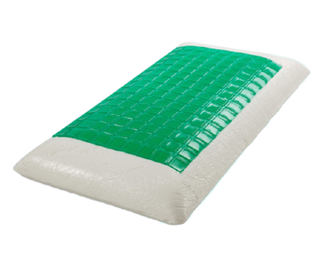 SleepHappy Square Cool Gel Memory Foam 1