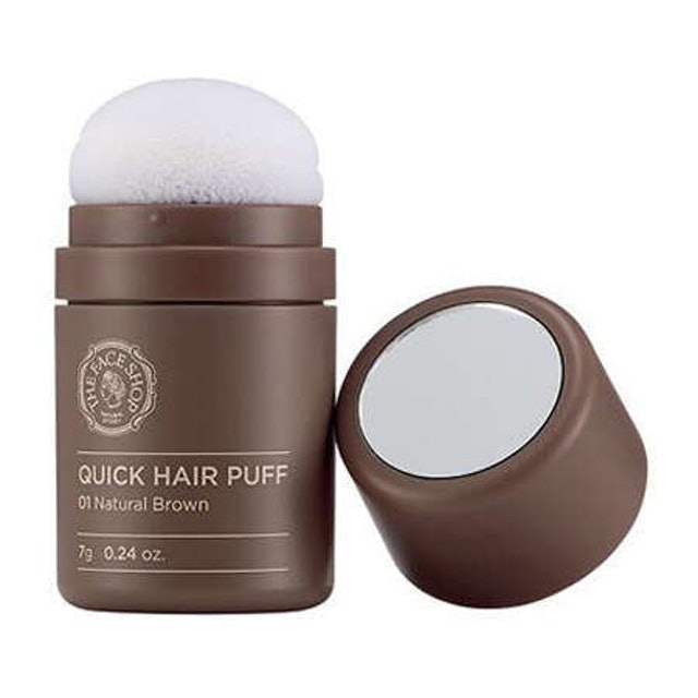 THE FACE SHOP พัฟคุชชั่น The Face Shop Quick Hair Puff  1