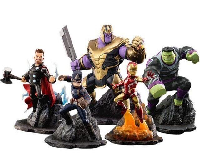 TOYLAXY Marvel's Avengers : Endgame Premium PVC Set 1st Wave 1