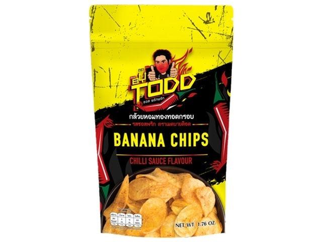 Made by TODD  กล้วยหอมทองทอดกรอบ 1