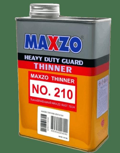 MAXZO ทินเนอร์ สูตรไร้กลิ่น เบอร์ 210 1