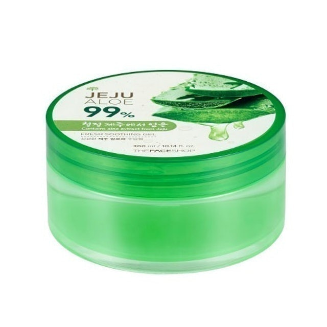 THE FACE SHOP  เจลบำรุงผิว The Face Shop Jeju Aloe Fresh Soothing Gel 1