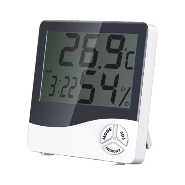 HTC เครื่องวัดอุณหภูมิและความชื้น HTC-1 1
