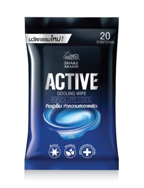 SNAKE BRAND ACTIVE COOLING WIPE 1