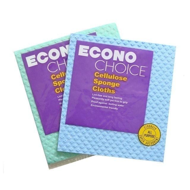 Econochoice ฟองน้ำล้างรถ Cellulose Sponge Cloths 1